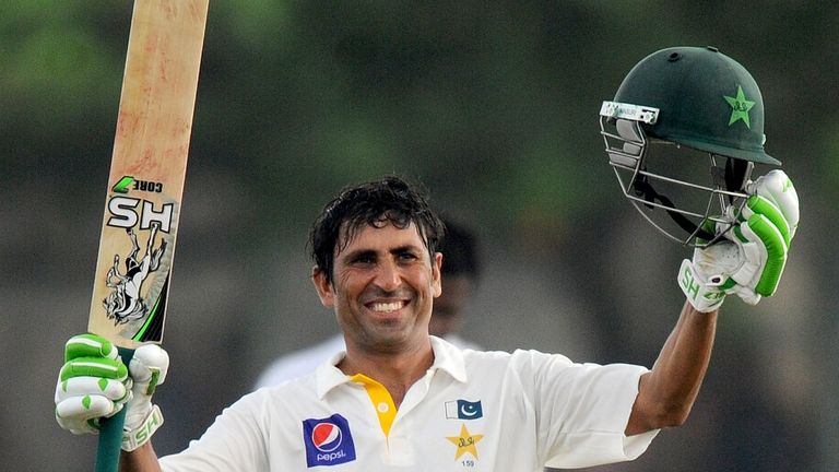 Younis Khan: Notched century