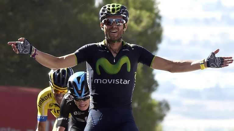 Alejandro Valverde defeated Chris Froome and Alberto Contador in a superb sixth stage