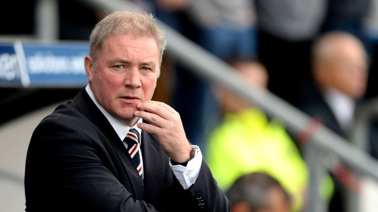 Ally McCoist says Rangers are not yet at their best