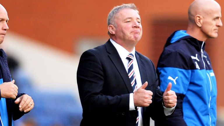 Ally McCoist: Rangers boss liked what he saw at Ibrox on Saturday