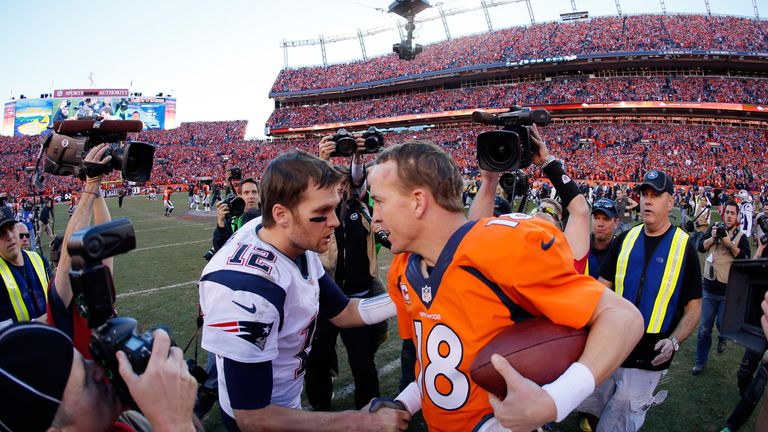 Tom Brady would love to beat Manning in title game