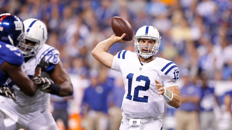 Andrew Luck the main man in Indy