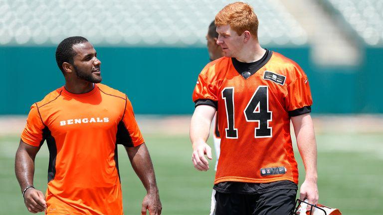 Quarterback Andy Dalton of the Cincinnati Bengals