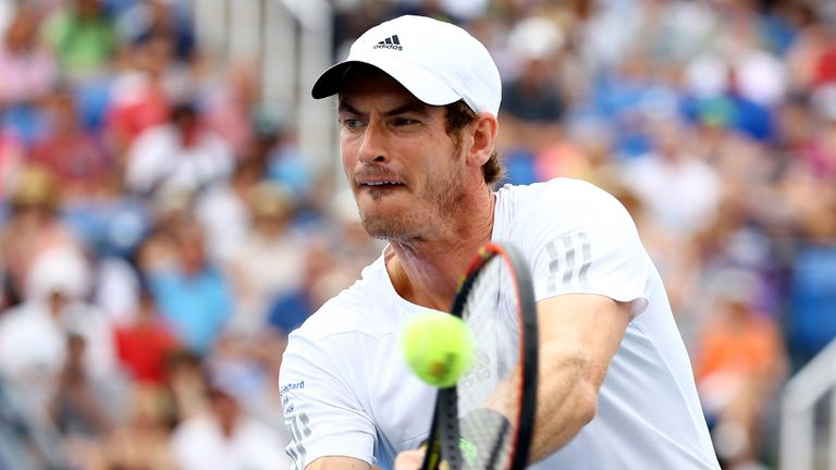 Murray: Defeated Kuznetsov in four to reach the fourth round at the US Open