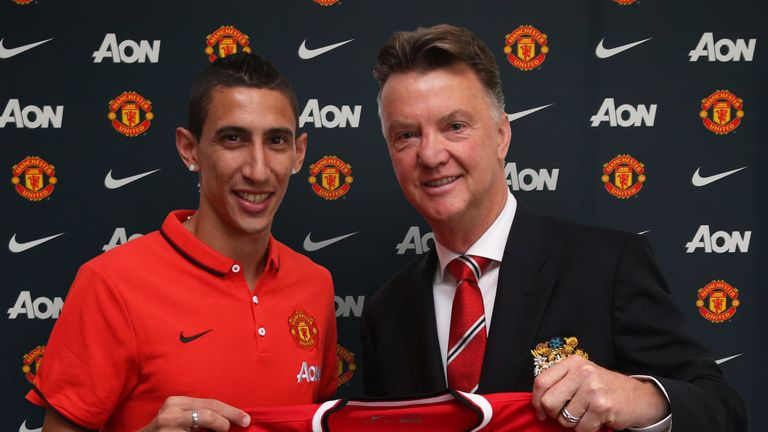 Angel di Maria: Argentina international has completed his move to Manchester United from Real Madrid