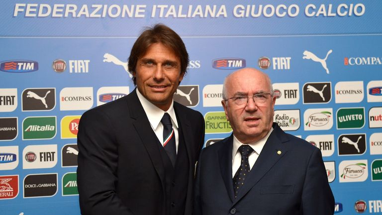 Conte: With new FIGC chief Tavecchio
