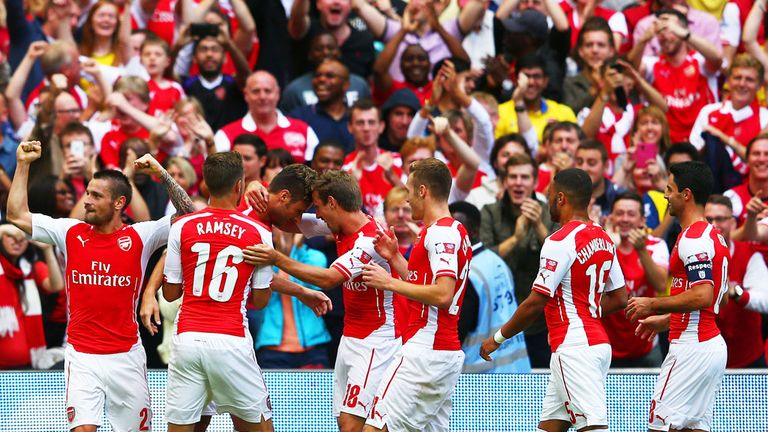 Arsenal thrashed Man City in the Community Shield to spark optimism for this season