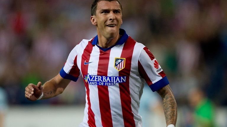 Mario Mandzukic: Scores in win over Eibar