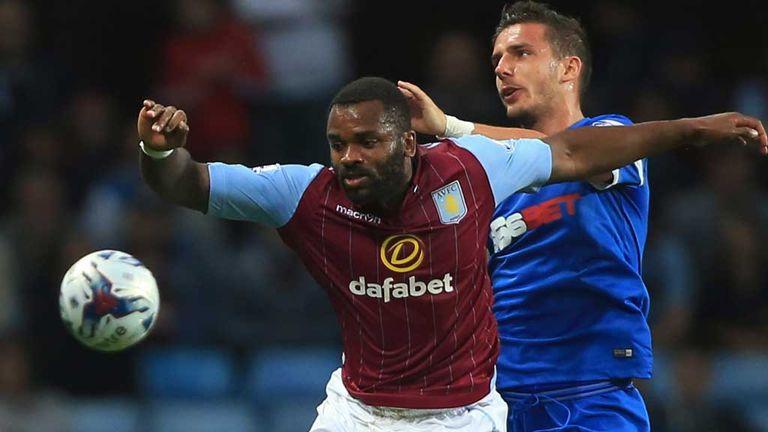 Darren Bent: Aston Villa striker in action against Leyton Orient
