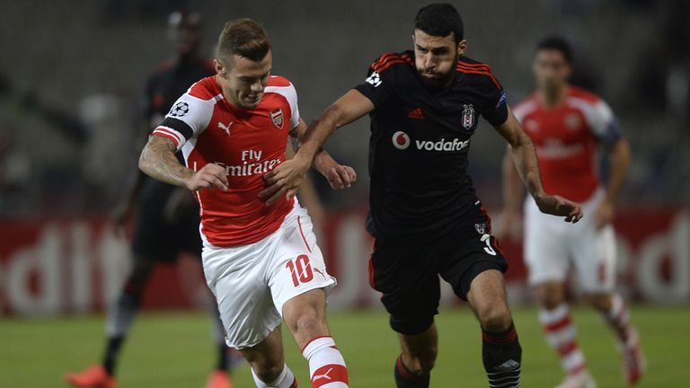 Jack Wilshere: Taking nothing for granted against Besiktas