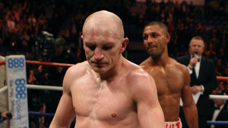 Hatton was beaten by Brook in 2012