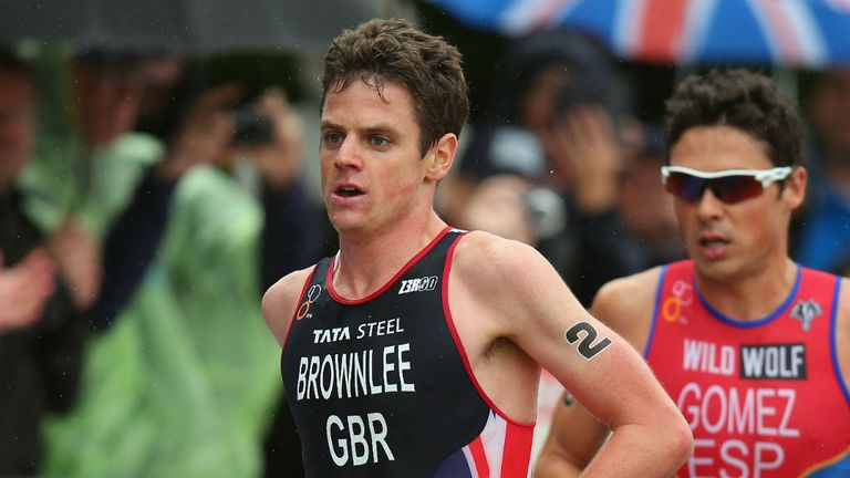 Jonathan Brownlee: Won the World Triathlon Series event in Stockholm ahead of brother Alastair