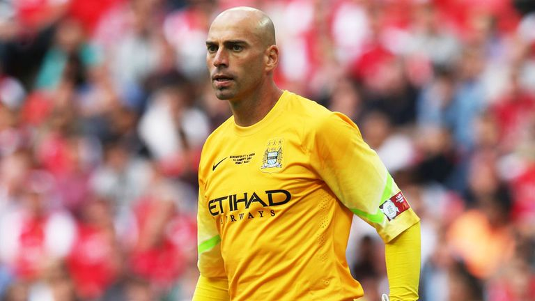 Willy Caballero: Started ahead of Joe Hart at Wembley