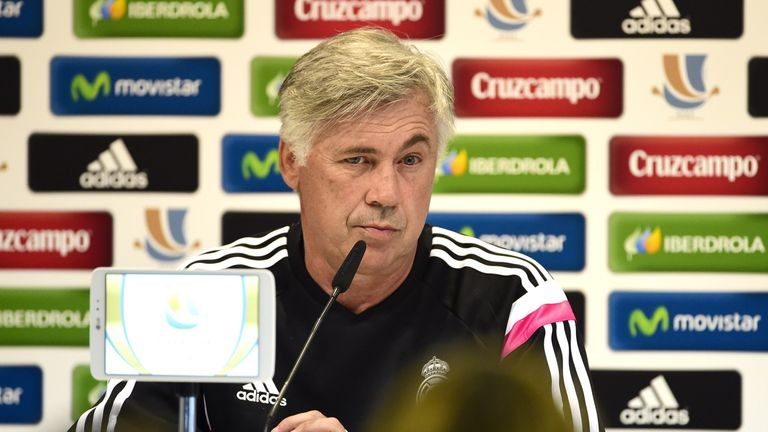 Carlo Ancelotti: Admits Real can improve