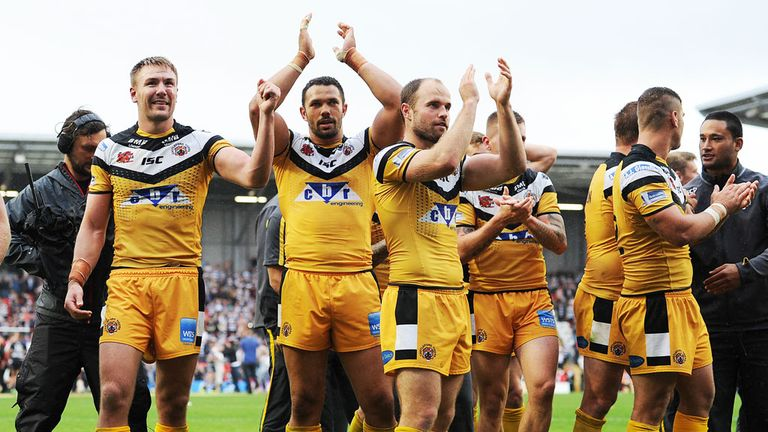 Castleford Tigers: Saw off Widnes Vikings to reach the final at Wembley
