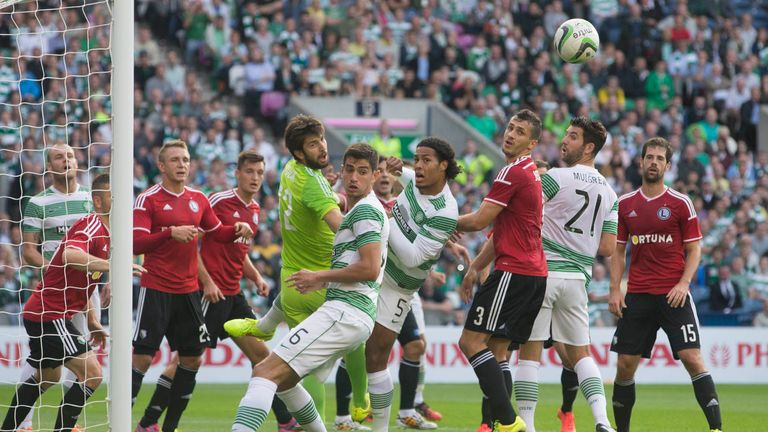 Murrayfield: Celtic lost 2-0 to Legia Warsaw on the night