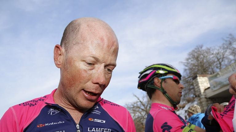 Chris Horner has been suffering from bronchitis in recent weeks