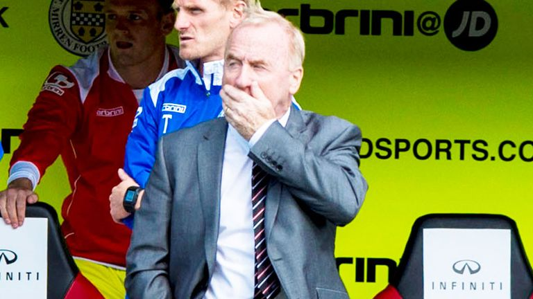Tommy Craig: St Mirren yet to score in the league this season