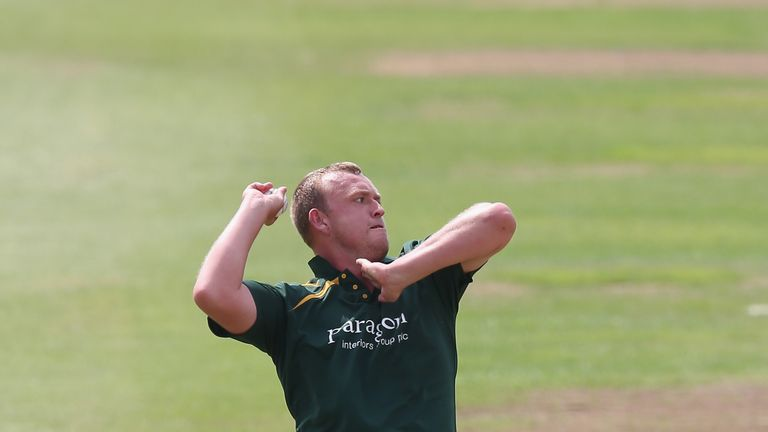 Luke Fletcher: Notts seamer claimed 4-44 and hit the winning runs