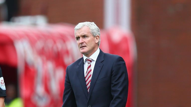 Mark Hughes: Stoke manager not expecting any more signings