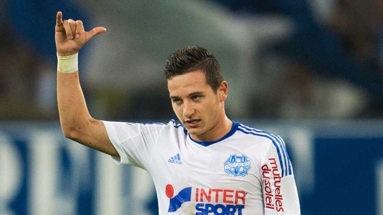 Marseille's Florian Thauvin was on the scoresheet for the hosts