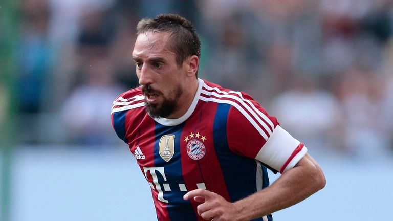 Franck Ribery: One of four former France internationals who have put club before country