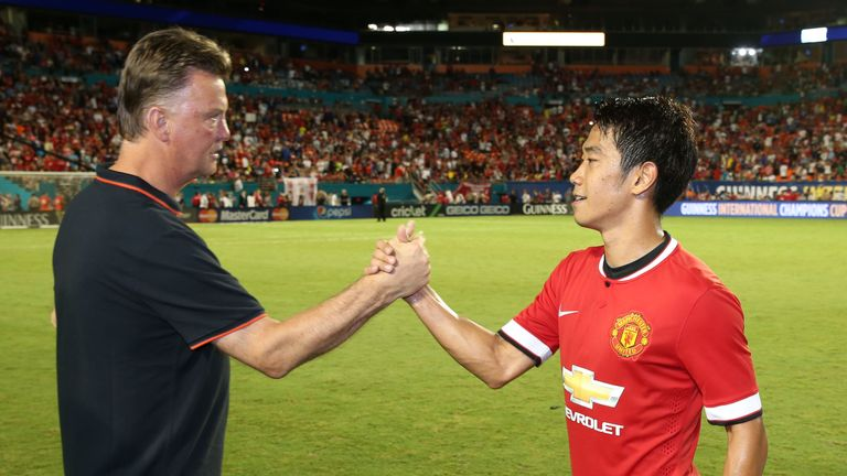 Shinji Kagawa: Has failed to impress Louis van Gaal since the Dutchman took over at Old Trafford