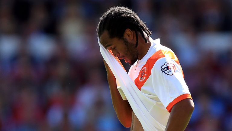 Nathan Delfouneso: One of Blackpool's new signings this summer
