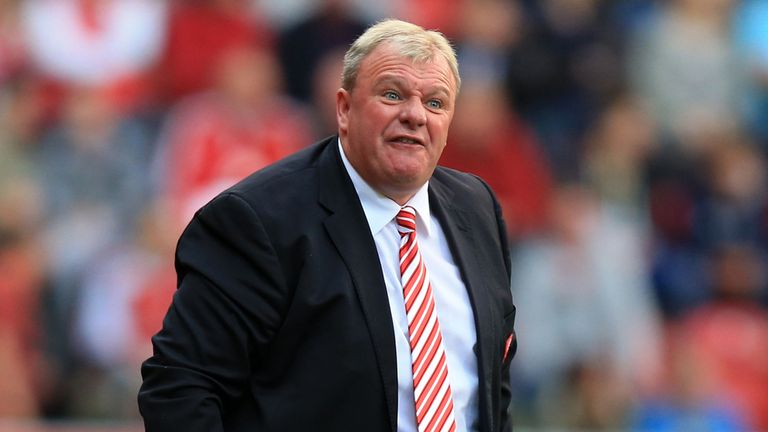 Steve Evans: Encourages Millers from touchline