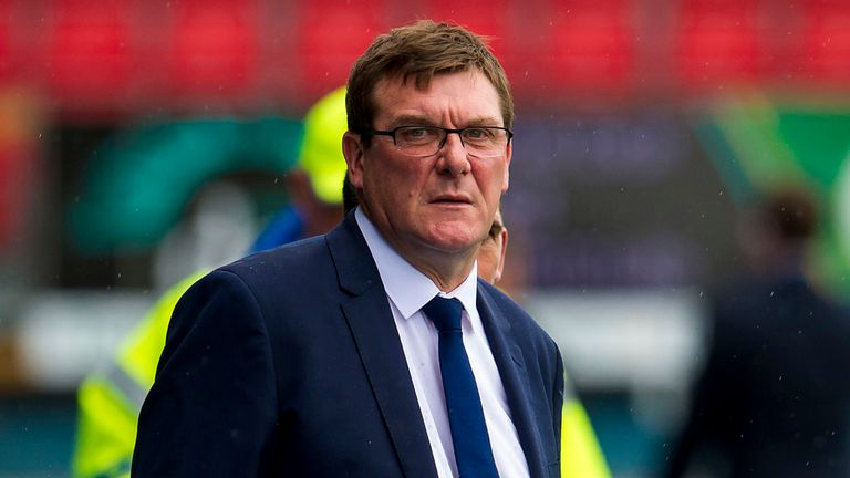 Tommy Wright: St. Johnstone manager has Murray Davidson in his plans for this season