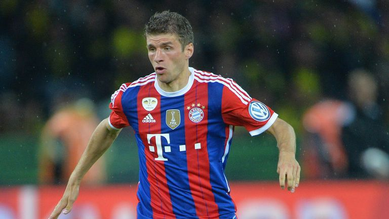 Thomas Muller: On the scoresheet for Bayern
