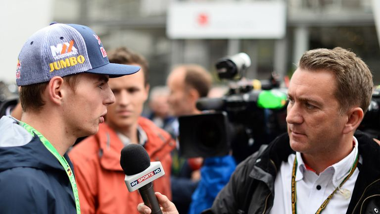 Max Verstappen: Couldn't turn down F1 chance