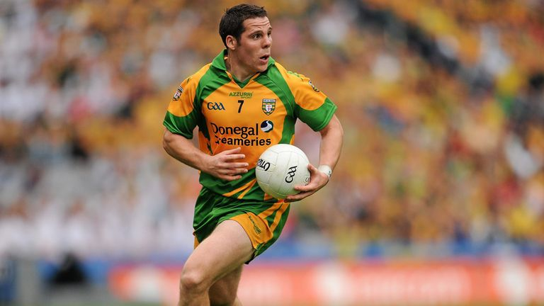 Kevin Cassidy in action for Donegal in 2011