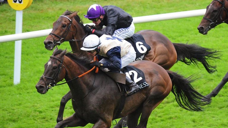 Artful Artist and Sean Corby deny Show Court in the Guinness Handicap at Galway.