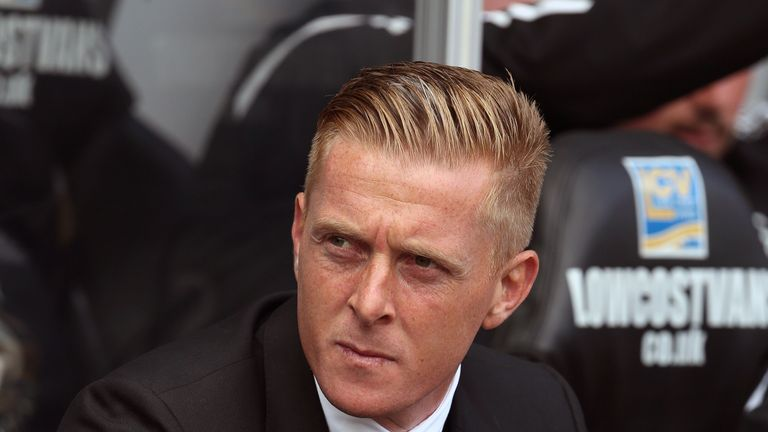 Garry Monk: Saw his Swansea side edge to a 1-0 win over Burnley