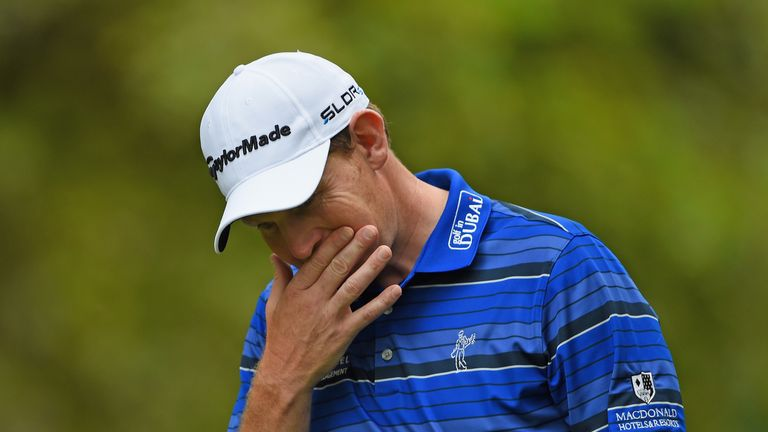 Stephen Gallacher: Came home in 30 shots to leave himself at seven under par