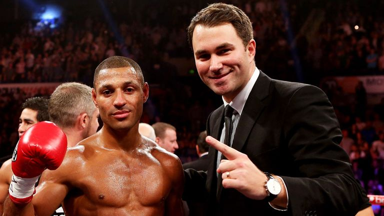 Eddie Hearn: Has ambitious plans for Kell Brook