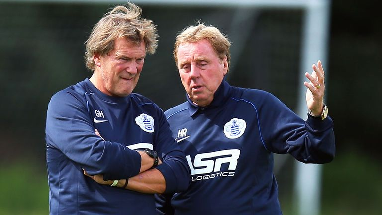 Glenn Hoddle: Recently linked up with Harry Redknapp