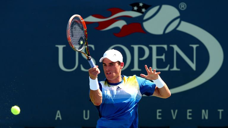 James McGee: Could not extend his fairytale run at the US Open