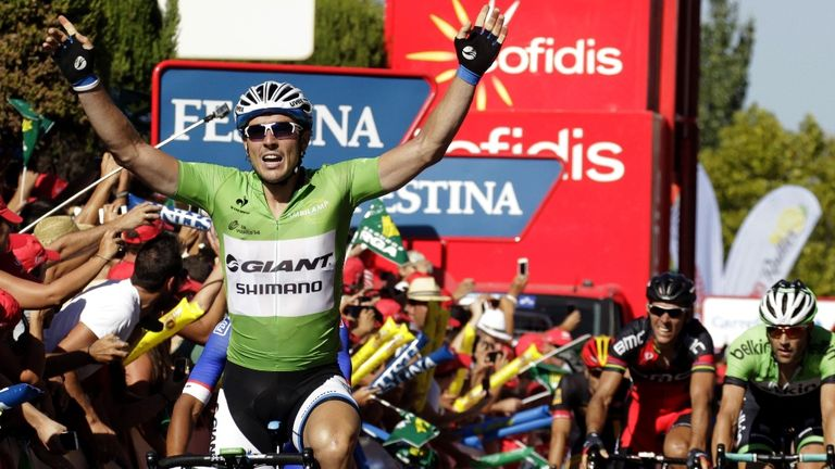 John Degenkolb won for the second day in a row