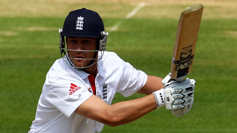 Jonathan Trott notches up the runs