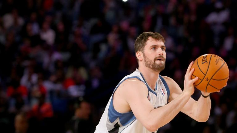 Kevin Love: Leaves the Minnesota Timberwolves to join the Cleveland Cavaliers