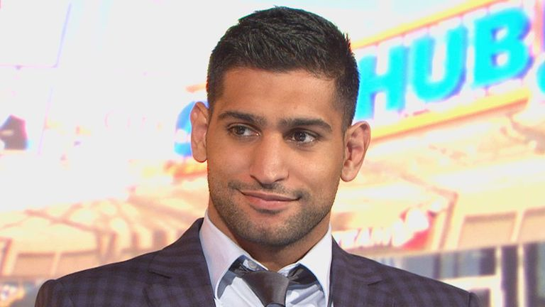 Amir Khan: Excited about a possible fight with Kell Brook