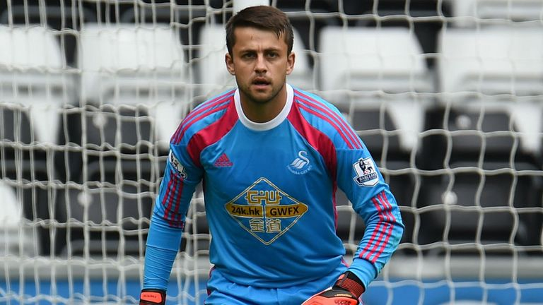 Lukasz Fabianski: Hoping for a regular role at Swansea