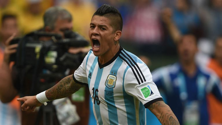 Marcos Rojo: His part-owners are in dispute with Sporting Lisbon following a transfer bid from Manchester United