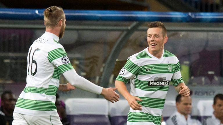 McGregor: Hailed after opening the scoring for Celtic against Maribor