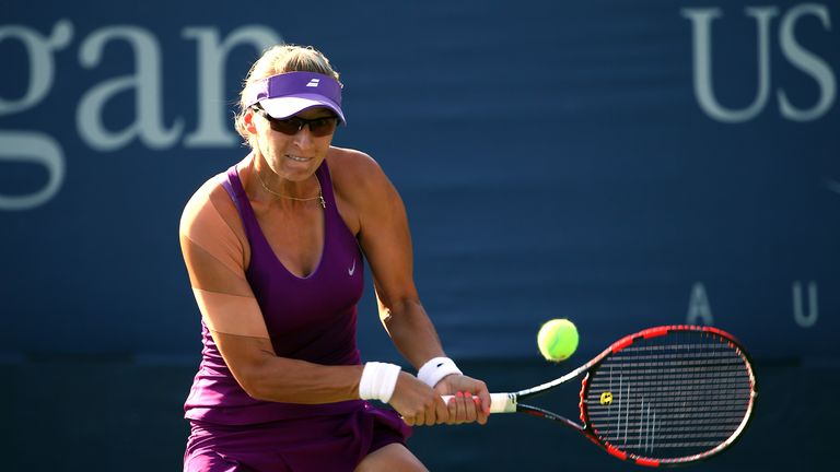Mirjana Lucic-Baroni: Caused a shock at the US Open