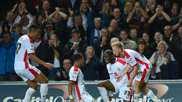 MK Dons beat Manchester United 4-0 in the second round of the League Cup on Tuesday
