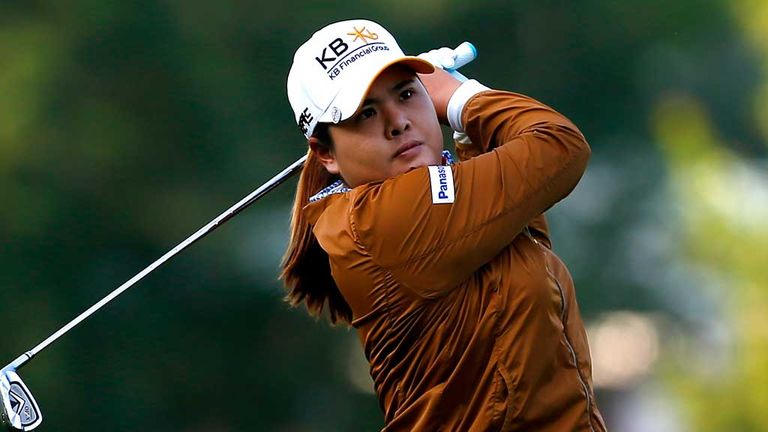 Inbee Park: One-shot lead in Michigan