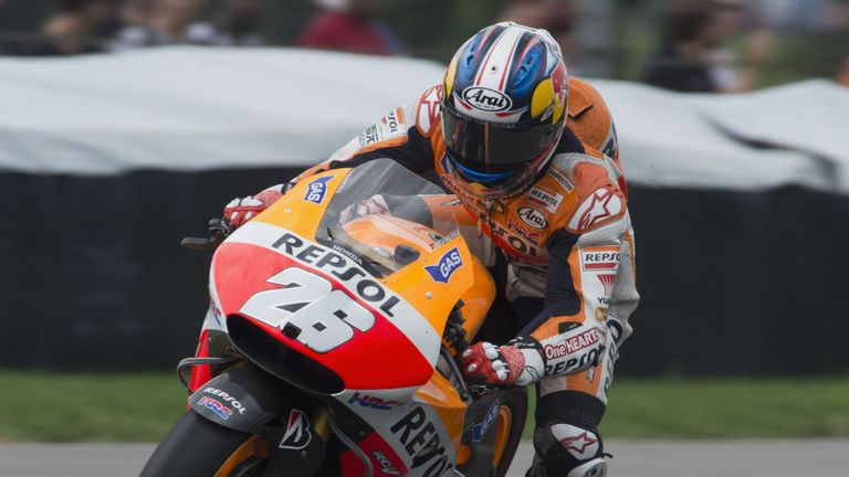Dani Pedrosa: Won the Czech Republic GP to deny Marc Marquez a record 11th straight victory